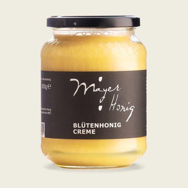 Blütenhonig-Creme 1000g – Mayer Honig